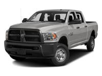 Options:  2016 Ram 2500 Tradesman|/|V6 6.7 L |29411