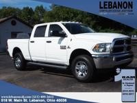2016 Ram 2500 Tradesman Bright White Clearcoat 4WD