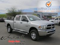 Only 3,402 Miles! Dealer Certified Pre-Owned. This Ram