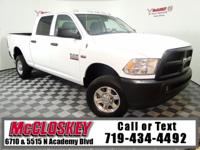 Excellent Ram Work Truck! 4X4, 6.4L Heavy Duty V8 HEMI