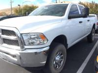 From work to weekends, this White 2016 Ram 2500