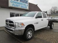 2016 Ram 2500 Crew Cab 4X4 Chassis & Cab with 60 CA and