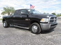 Black 2016 Ram 3500 Big Horn RWD 6-Speed Automatic