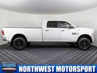Clean Carfax One Owner Diesel Lifted Truck with
