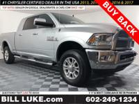 Options:  2016 Ram 3500 Laramie|Silver|Buy Back!! Mega