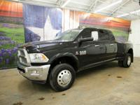 *Rule the roads in this massive black crystal 2016 Ram