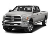 2016 Ram 3500 White  CARFAX One-Owner.  Could this be