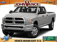 Options:  2016 Ram 3500 Tradesman|Quick Order Package
