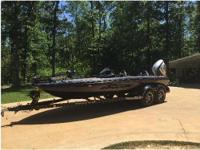 2016 Ranger 520C, Rigid Industries deck lights, with
