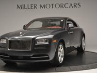 This is a Rolls-Royce Wraith for sale by Miller