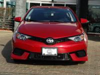Options:  2016 Scion Im|Barcelona Red Metallic/Black|V4