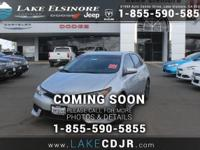 Move quickly! At Lake Elsinore Chrysler Dodge Jeep RAM,