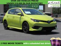 CarFax 1-Owner, This 2016 Scion iM will sell fast