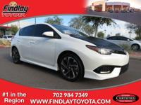 ~ 2016 Scion iM ~ CARFAX: 1-Owner, Buy Back Guarantee,