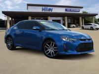 Blue used 2016 Scion tC coupe, FWD, 6-Speed Automatic,