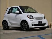 This outstanding example of a 2016 smart fortwo Passion