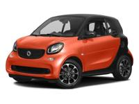 Orange 2016 smart Fortwo Passion RWD 6-Speed Dual