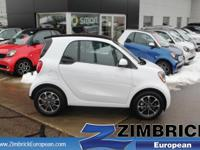 Options:  2016 Smart Fortwo 2Dr Cpe Passion|3 Cylinder