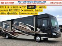 This Luxury Diesel Pusher RV is truly unique to the