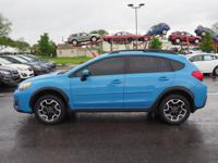 CARFAX One-Owner. Clean CARFAX. Hyper Blue 2016 Subaru