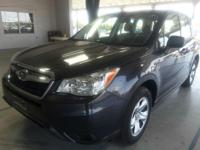 Safe and reliable, this Used 2016 Subaru Forester 2.5i