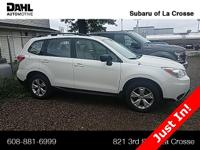 2016 Subaru Forester 2.5i Certified. CARFAX One-Owner.