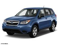 This 2016 Subaru Forester 2.5i boasts features like a