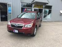 Introducing the 2016 Subaru Forester! An awesome price