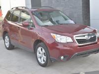CARFAX One-Owner. Clean CARFAX. Red 2016 Subaru