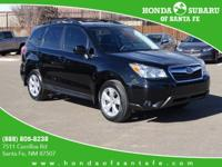 SUBARU CERTIFIED!! BLACK LEATHER!! POWER MOONROOF!! ALL