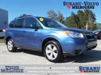 SUBARU CERTIFIED PRE-OWNED 2016 FORESTER 2.5i
