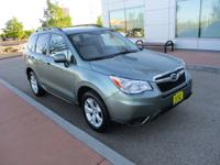 Introducing the 2016 Subaru Forester! Demonstrating