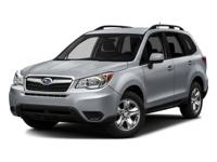 Introducing the 2016 Subaru Forester! A comfortable