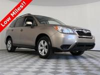 2016 Subaru Forester with only 15871 on the odometer,