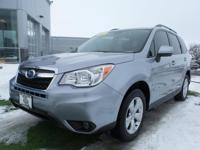 PREMIUM FORESTER WITH EYESIGHT AND MOONROOF  Options: