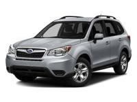 Extremely low mileage 2016 forester! Clean carfax and