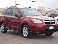 This 2016 Subaru Forester 2.5i Premium comes with Gray