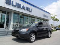 One Owner. Forester 2.5i Premium CPO, Subaru Certified,
