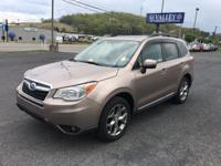 Forester 2.5i Touring, Subaru Certified, 4D Sport