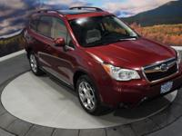 Subaru Certified, CARFAX 1-Owner, Excellent Condition.