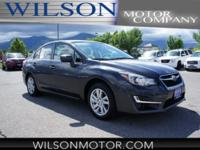 CARFAX One-Owner. Clean CARFAX. Black 2016 Subaru