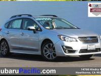 Certified, Sunroof/Moonroof, Impreza 2.0i Sport
