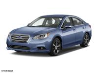 This 2016 Subaru Legacy 4DR SDN 2.5I LIMITED PZEV