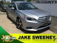 Stunning in Silver, our 2016 Subaru Legacy 2.5i Limited
