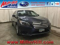 2016 Subaru Legacy 2.5i Premium AWD ready to go! One of
