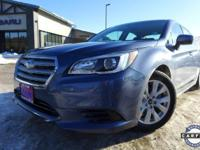 Options:  2016 Subaru Legacy 2.5I|Blue|*Subaru
