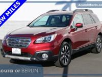 2016 Subaru Outback 2.5i Crimson Red Pearl New Price!
