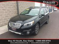 Certified. 2016 Subaru Outback 2.5i Limited Crystal