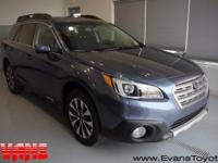 CARFAX One-Owner. 2016 Subaru Outback 2.5i Limited AWD