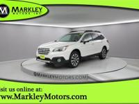 Our 2016 Subaru Outback 2.5i Limited AWD in White is